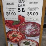 02 Totale Pizza special deal sign 150x150 Totale Pizza Napoletanas $5 Margherita
