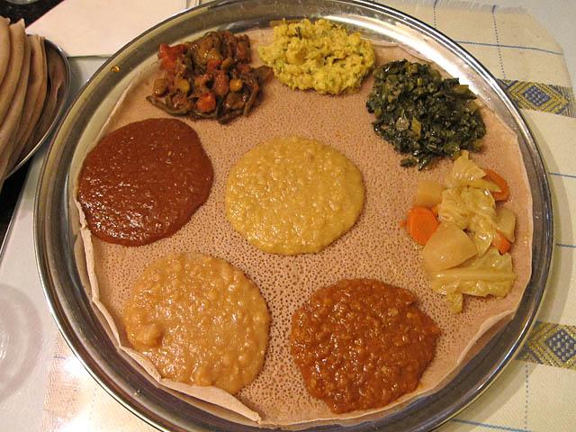 ethiopian vegetarian food