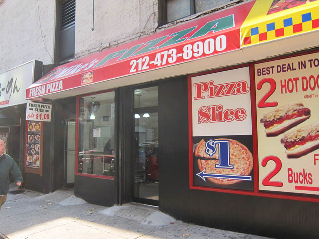 01 Mike's Pizza NYC