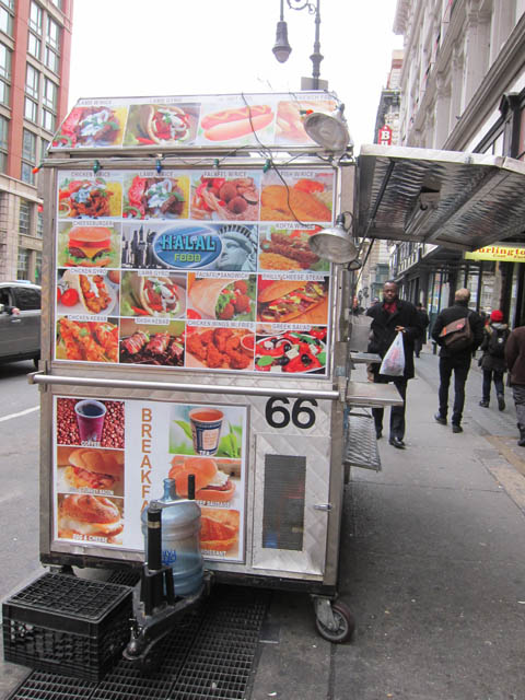 01 Halal Food Cart - 23rd St & 6th Ave NYC