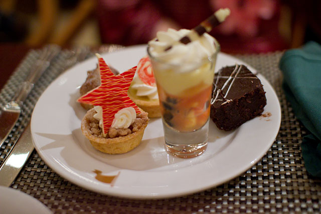 Christmas Buffet at the Islands Dining Room at Royal Pacific