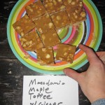 12 Margaret's Macadamia Maple Toffee with Ginger