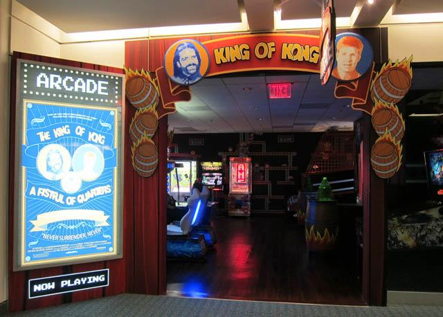 King of Kong Arcade - Orlando Airport