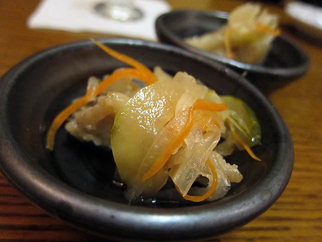 01 Marinated Fish - Ise Japanese Restaurant