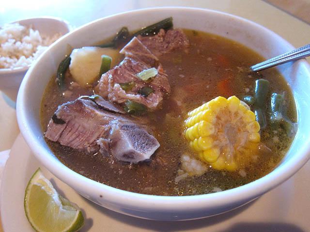 Sopa De Res - Bahia Restaurant Brooklyn