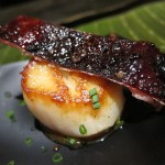 14 Scallop and Duck Skin Ember Room 150x150 Ember Room Opening Night Party