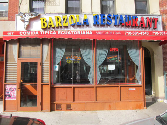 01 Barzola Restaurant - Brooklyn