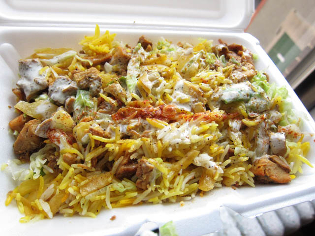 01 Chicken Biryani - Mia Zee Halal Cart