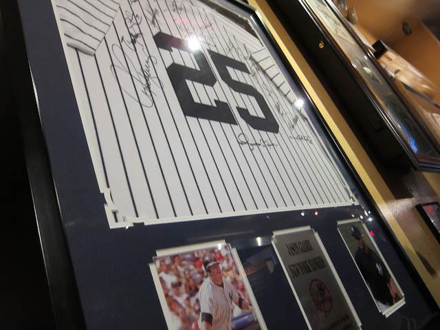 01 Sports memorabilia at Carmine's
