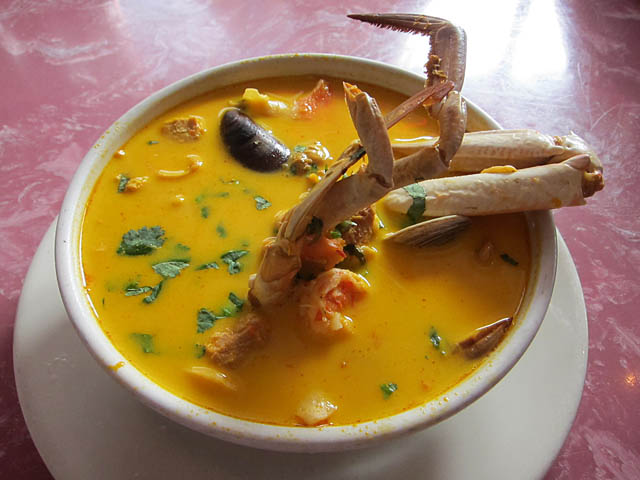 03 Seafood Soup Barzola Restaurant The Best Things I Ate in 2011