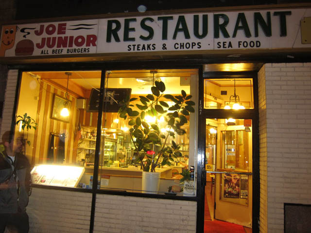 01 Joe Junior Restaurant NYC