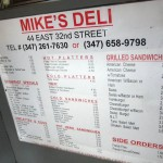 02 Mike's Deli Menu