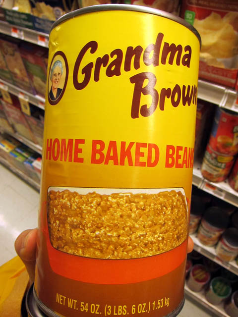 01 Grandma Brown's Home Baked Beans