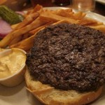 01 Kobe Beef Burger - The Half King