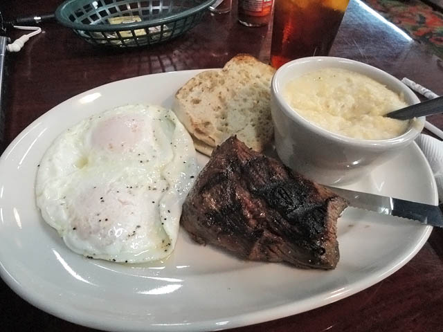 01 Steak and Eggs - Dixie Grill