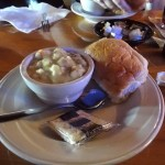 02 Chicken & Rice Soup and Roll - Buffalo House