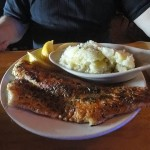 04 Lake Superior Walleye with Garlic Mashed Potatoes - Buffalo House