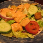 05 Side Salad with Thousand Island Red Lobster Times Square 150x150 Dining with Dr. Klaw at Red Lobster