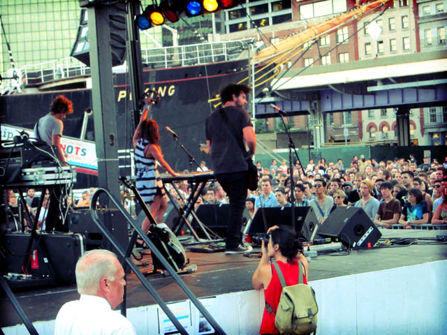 01 Asobi Seksu - South Street Seaport 2011