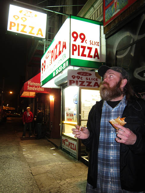 01 Rusty at 99cent Pizza E Village