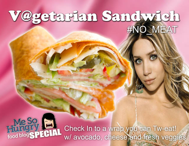 01 Vagitarian Sandwich small Vegetarian Sandwich Signs