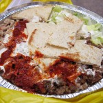 03 Chicken and Lamb Platter - The Halal Guys at 52nd Street & 6th Ave NYC