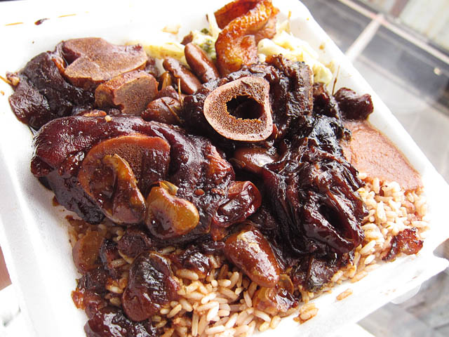 03 Cow Foot Stew Jamaican Dutchy The Best Things I Ate in 2011