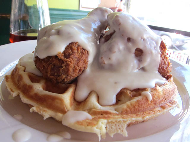 04 Fried Chicken and Waffles Jimmys Diner The Best Things I Ate in 2011