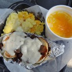 05 Just Bubba - Biscuits and Gravy with Cheese Grits - J Christopher's