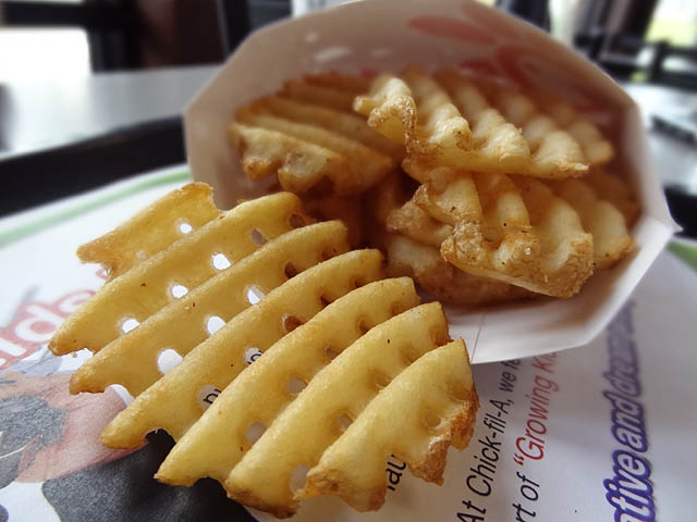 05 Waffle Fries – Chick-fil-A | ME SO HUNGRY
