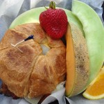 08 Croissant and fruit - J Christopher's