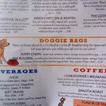 10 Doggie Bags menu - J Christopher's