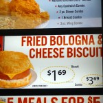 02 Fried Bologna Cheese Biscuit Bojangles 150x150 Fried Bologna & Cheese Biscuit @ Bojangles