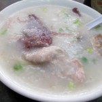 03 Congee with Pork and Pork Belly and Liver