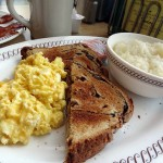 06 Eggs Grits and Raisin Bread