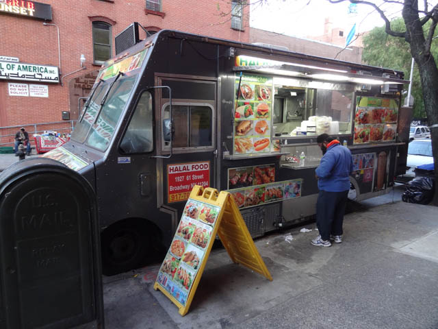 01 Halal Truck on E 11th St & 1st Ave NYC