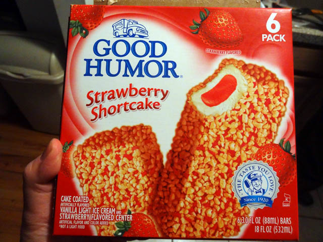 01 Good Humor - Strawberry Shortcake Ice Cream Bar