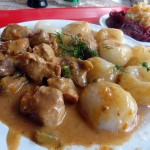 03 Pork Goulash and Dumplings - Polonia Restaurant