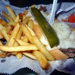 04 Italian Beef Sandwich and Fries The Shamrock Club 150x150 Italian Beef Sandwich @ The Shamrock Club (Chicago)