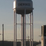 04 water tower cherokee 150x150 Tio Wally Eats America: Hy Vee in Cherokee, Iowa