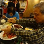 06 Dad getting Congee