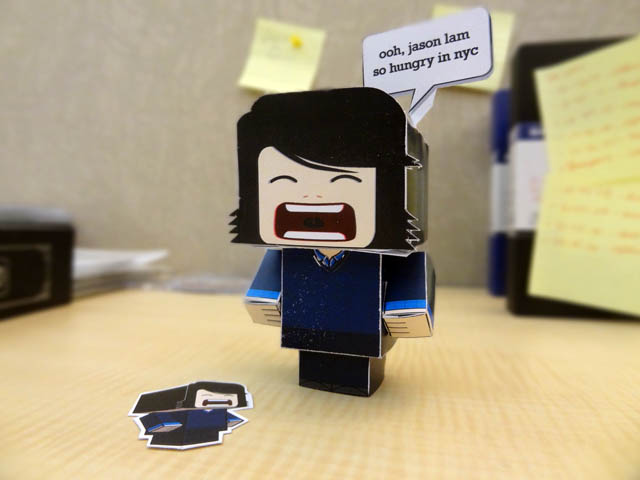 Jason Lam papercraft - Cubeecraft
