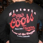 18 coors shirt 150x150 Tio Wally Eats America: Gray's Coors Tavern