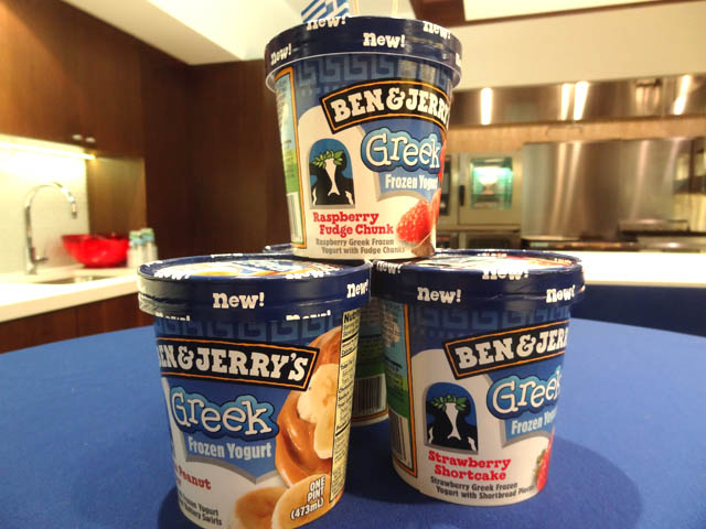 01 Ben & Jerry's Greek Frozen Yogurt