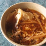 08 Family Buffet Hot sour soup w wonton 150x150 Tio Wally Eats America: Family Buffet in Junction City