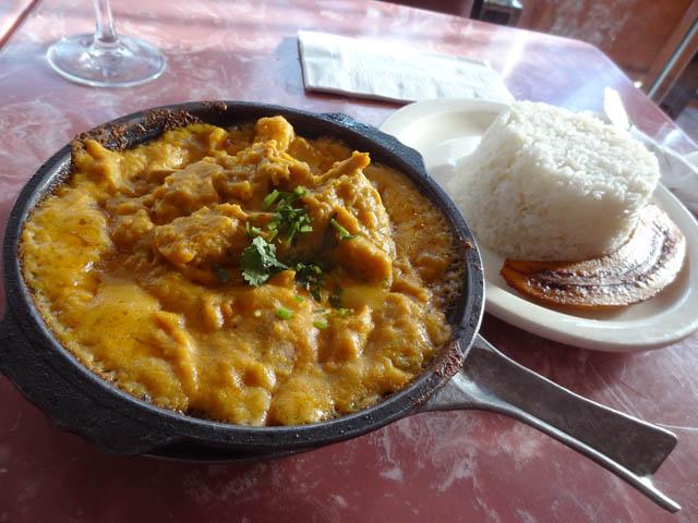 01 Ecuadorian Fish and Shrimp Casserole - Barzola Restaurant