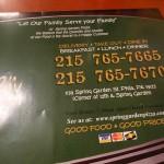 03 Spring Garden Pizza Restaurant Philadelphia 150x150 Spring Gardens Meatball Stromboli (Philadelphia, PA)