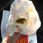 07 McD burrito 4 150x150 Tio Wally Eats America: McDonalds Sausage Breakfast Burrito