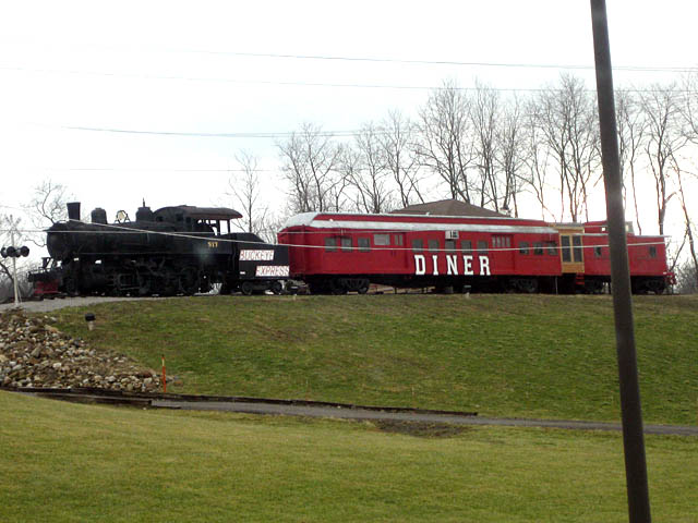 Diner Train - Bellville, Ohio