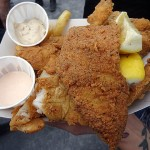 08 Fish and Chips Handsome Hanks Fish Hut 150x150 Handsome Hanks Fish Hut @ Smorgasburg